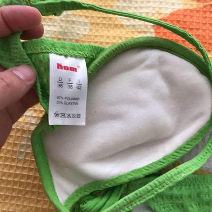 36 Beden yeşil Renk Kadın bikini