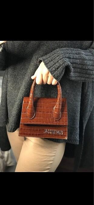 Krokodil mini el/çarpraz çanta