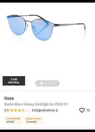 OSSE MAVİ CAM GÜNEŞ GÖZLÜĞÜ