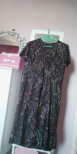 Desenli Elbise L/XL