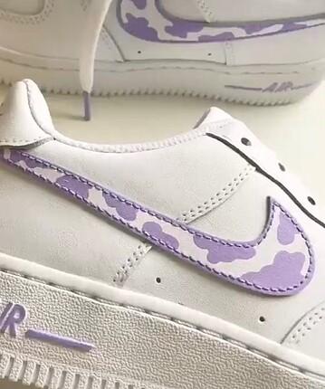 Nike mor bulut nike air force