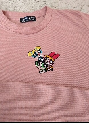 Powerpuff Girls Crop Body