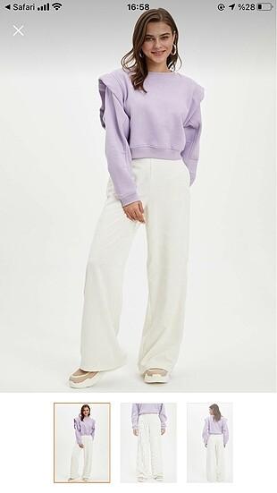 Defacto Defacto yüksek bel pantolon