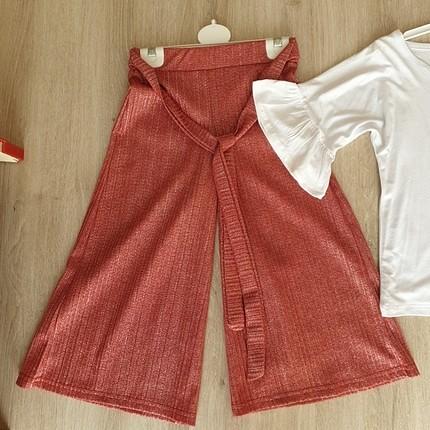 Diğer simli pantolon takımı