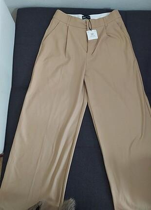 geniş paça zara kumaş pantolon