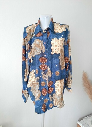 Vintage gömlek bluz 60 lar 60s