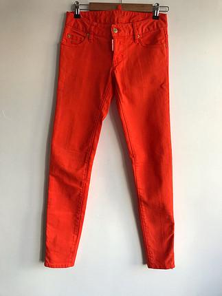 38 Beden Turuncu kot pantolon