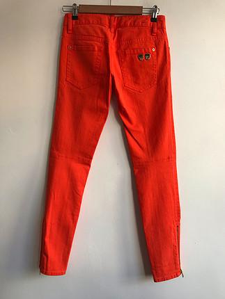 Turuncu kot pantolon