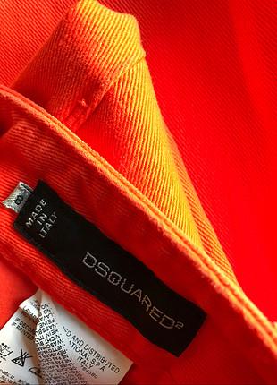 38 Beden turuncu Renk Turuncu kot pantolon