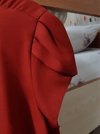 Koton Koton omuz detaylı tül bluz ETİKETLİ