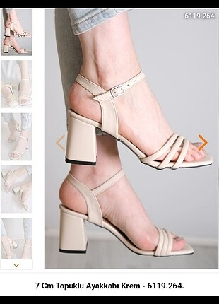 Zara Yeni Kadın Topuklu Sandalet
