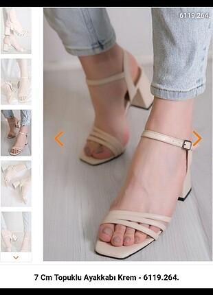 Yeni Kadın Topuklu Sandalet