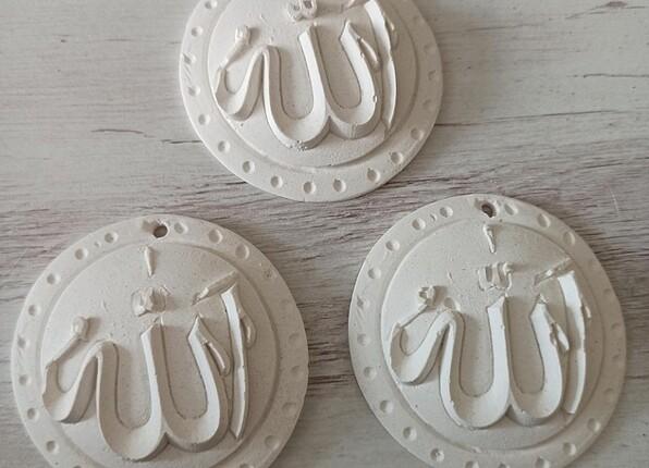 Vintage Love Allah yazan obje