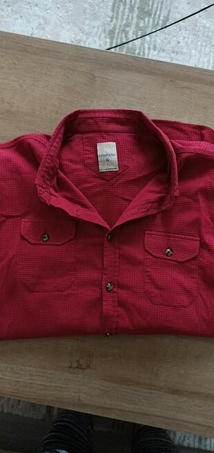 XXL erkek gömlek likrali