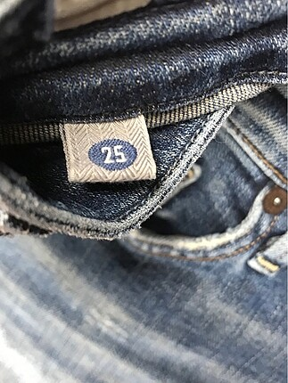 26 Beden mavi Renk Jean Pantolon