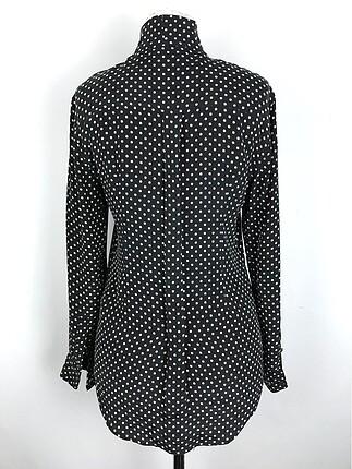 xs Beden Desenli İpek Bluz