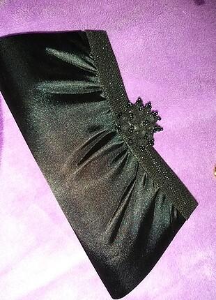 Siyah abiye çanta