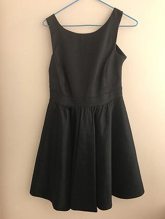 Sırt Dekolteli Balerin Elbise