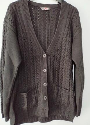 Kışlık örme ceket