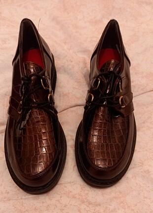 Oxford loafer ayakkabı