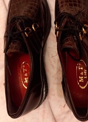 Zara Oxford loafer ayakkabı