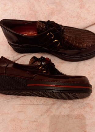 37 Beden Oxford loafer ayakkabı