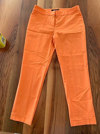 Herry Turuncu kumaş pantolon