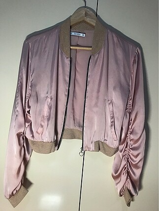 pull and bear pembe bomber