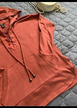 Swetshirt kiremit