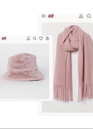 H&M şapka ve atkı