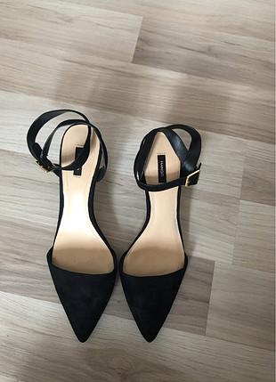 Mango Mango bilekli topuklu ayakkabı