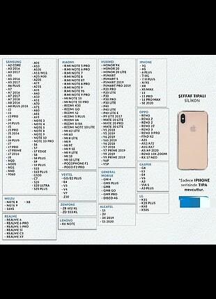 Huawei Y6 2019 ŞEFFAF KILIF