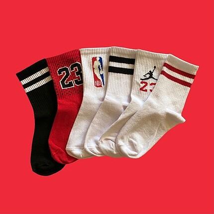 Nike 6 tane çorap 25?