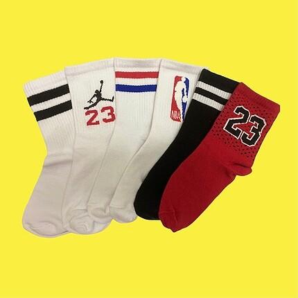 Nike 6 adet çorap 25?