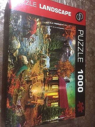 1000 parçalı puzzle