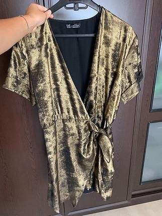Zara Kruvaze Elbise