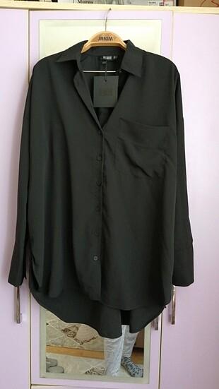 Siyah salaş gömlek