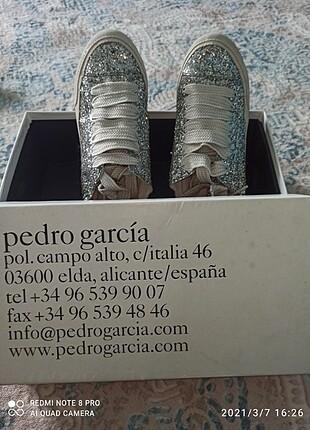 Pedro Garcia 37 spor ayakkabı