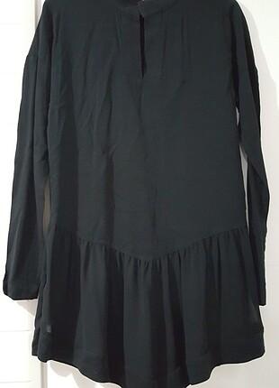 Kollu tunik & mini elbise