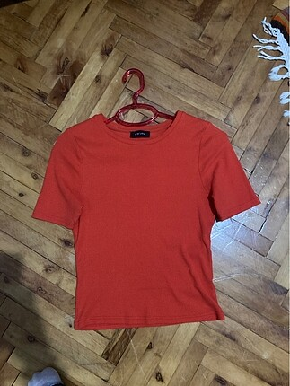 Dar turuncu Bluz