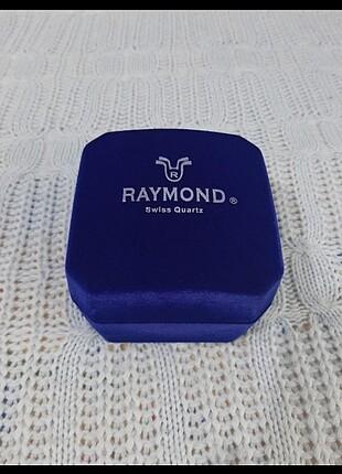 Raymond kadife saat kutusu