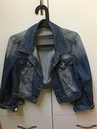 Jean ceket kısa