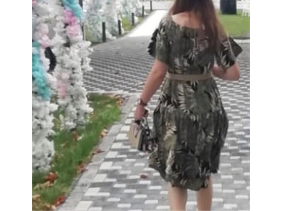 m Beden Elbise hasarsız