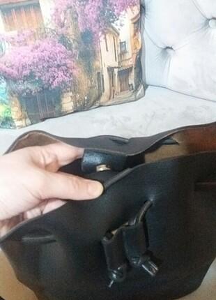 Beden siyah Renk Polarıs marka çanta