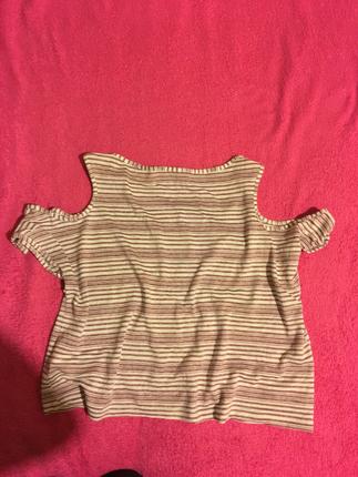 Koton kol dekolteli tişört