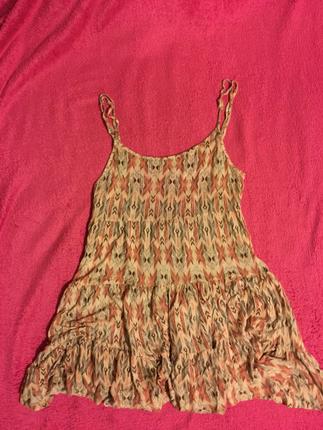 Askılı günlük elbise