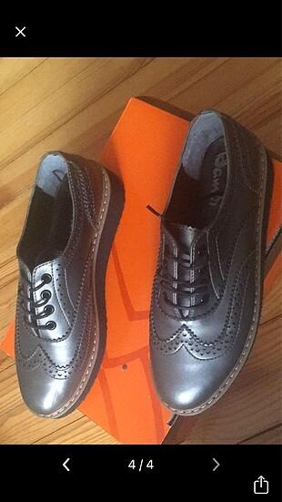38 Beden gri Renk Kadın ayakkabı