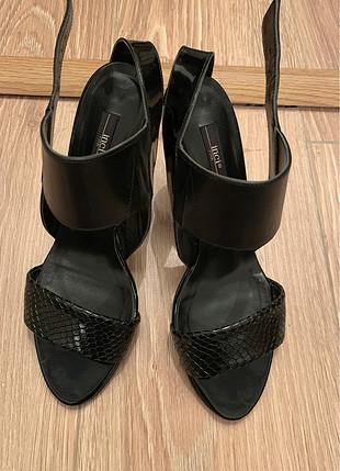 38 Beden siyah Renk Siyah Stiletto