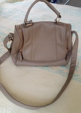 Bej rengi omuz çantası