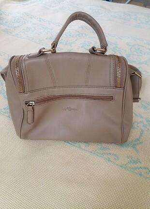 Pierre Cardin Bej rengi omuz çantası